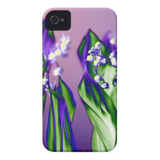 Lily of the Valley in Lavender iPhone 4 Case-Mate Cases