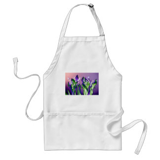 Lily of the Valley in Lavender Standard Apron