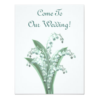 Lily of the Valley Invitation