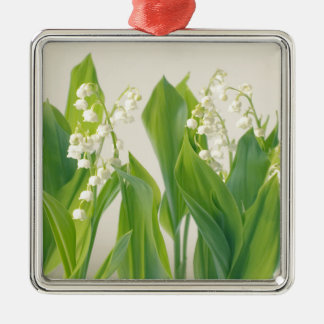 Lily of the Valley Metal Ornament