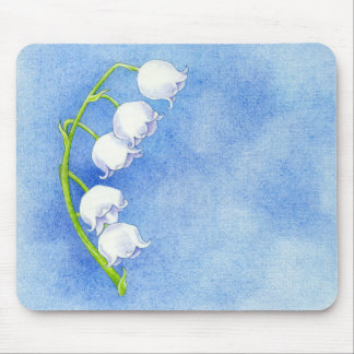 Lily of the Valley Mousepad