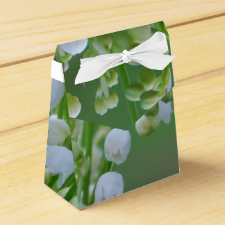 Lily of the valley party favour boxes