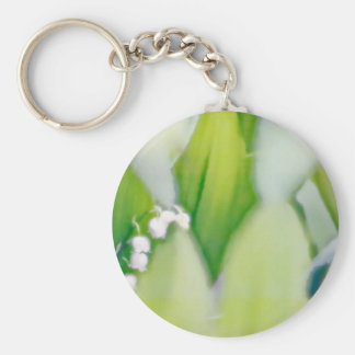 Lily of the Valley Sketch Key Ring