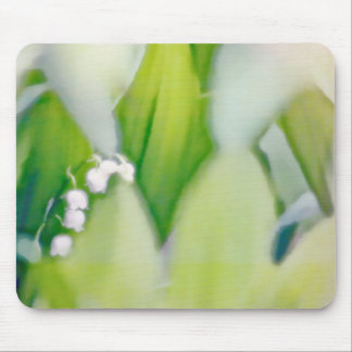Lily of the Valley Sketch Mouse Pad