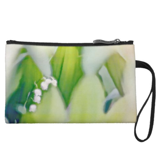 Lily of the Valley Sketch Wristlet Purses