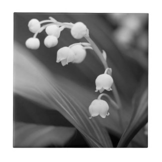 Lily of the Valley Small Square Tile