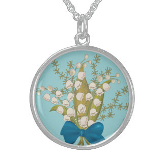 Lily of the Valley Sterling Silver Necklace