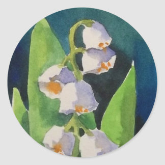 Lily of the Valley Stickers