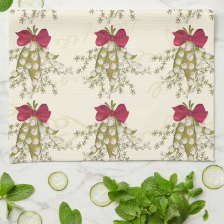 Lily of the Valley Tea Towel