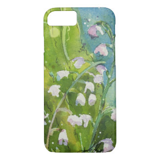 Lily of the Valley watercolor iPhone 8/7 Case