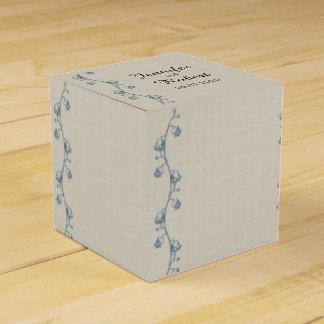 Lily of the Valley Wedding Favor Box Wedding Favour Box