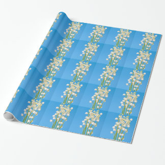 lily of the valley wrapping paper