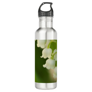Lily of Valley Flower 710 Ml Water Bottle