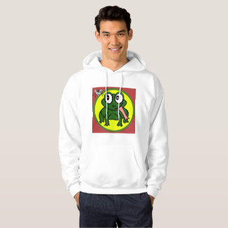 Lily Pad Alliance Frog And Fly Unite Hoodie