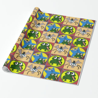 Lily Pad Alliance Wrapping Paper