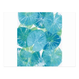 Lily Pad blues Postcard