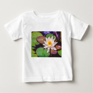Lily pad on the water baby T-Shirt