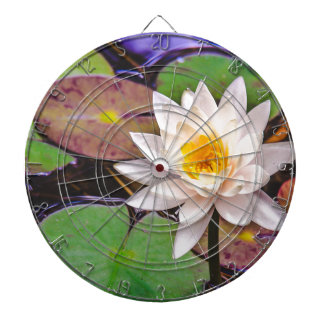 Lily pad on the water dartboard