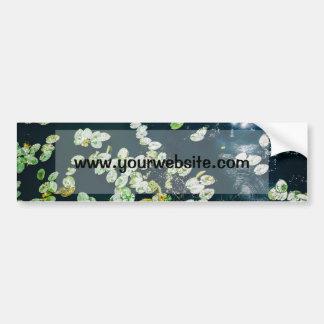 Lily Pads Bumper Sticker