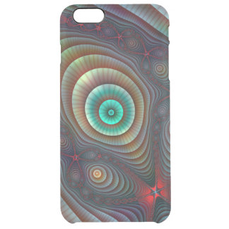 Lily Pads Fractal Fantasy Abstract Art Clear iPhone 6 Plus Case