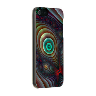 Lily Pads Fractal Fantasy Abstract Art Incipio Feather® Shine iPhone 5 Case