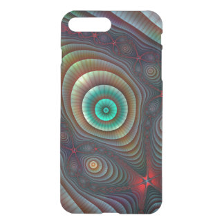 Lily Pads Fractal Fantasy Abstract Art iPhone 7 Plus Case