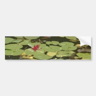Lily pads Impressionism Art Bumper Sticker
