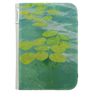 Lily Pads Kindle Keyboard Cases