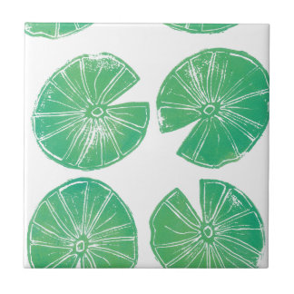 Lily pads tile