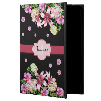 Lily & Peony Floral Black Powis iPad Air 2 Case