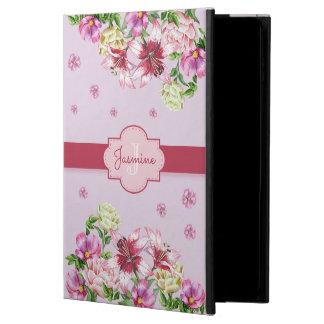 Lily & Peony Floral Purple Powis iPad Air 2 Case