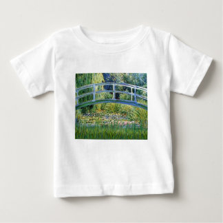 Lily Pond Bridge - insert your pet Baby T-Shirt