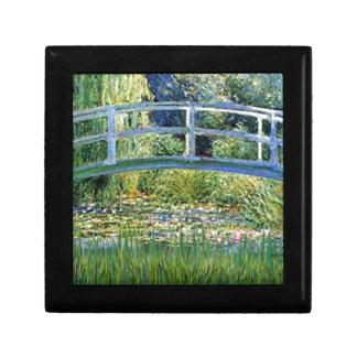 Lily Pond Bridge - insert your pet Gift Box