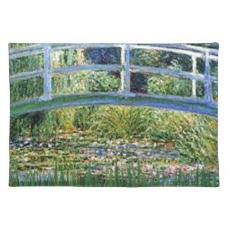 Lily Pond Bridge - insert your pet Placemat