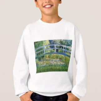 Lily Pond Bridge - insert your pet Sweatshirt