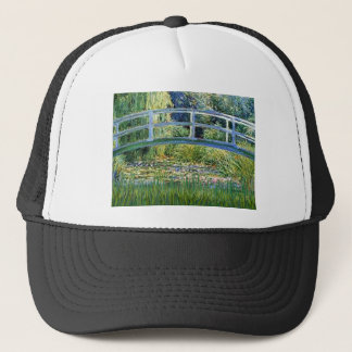 Lily Pond Bridge - insert your pet Trucker Hat