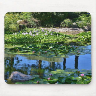 Lily Pond with Reflections Mouse Pad
