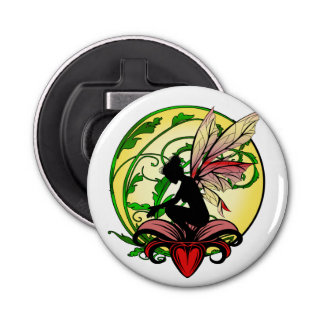 Lily Shadow Fairy Bottle Opener