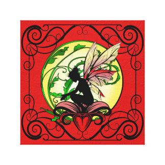 Lily Shadow Fairy Canvas Print