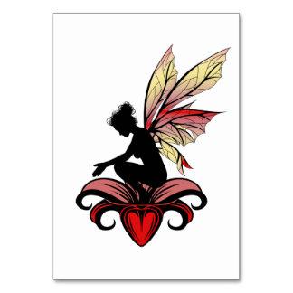 Lily Shadow Fairy Card