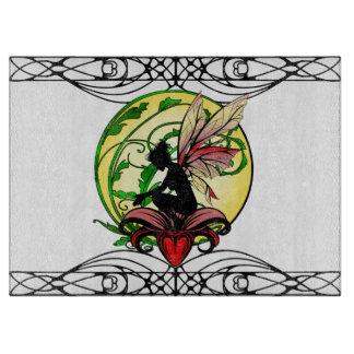 Lily Shadow Fairy Cutting Board