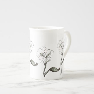 lily tea cup