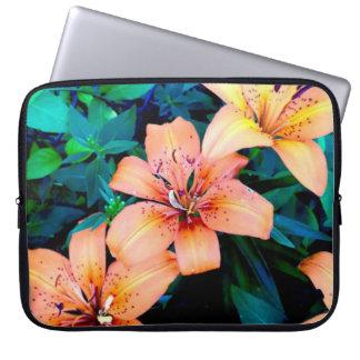 Lily trio laptop sleeve case