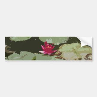 Lilypads Impressionism Art Bumper Stickers