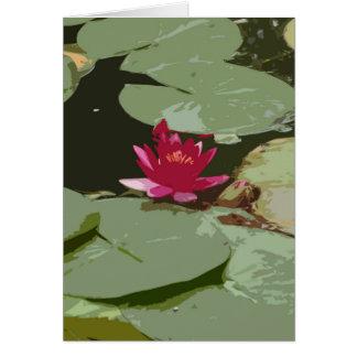 Lilypads Impressionism Art Card
