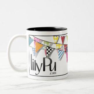 LilyPu logo white & black mug