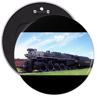 Lima-Baldwin Locomotive Nickel Plate Railroad #757 6 Cm Round Badge
