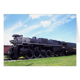 Lima-Baldwin Locomotive Nickel Plate Railroad #757 Card