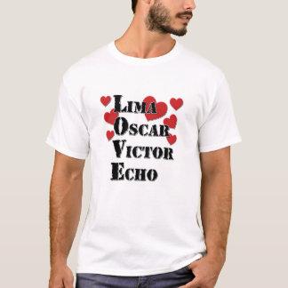Lima Oscar  Victor Echo T-Shirt