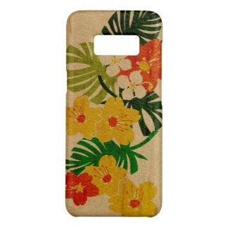 Limahuli Garden Hawaiian Faux Wood Orange Case-Mate Samsung Galaxy S8 Case